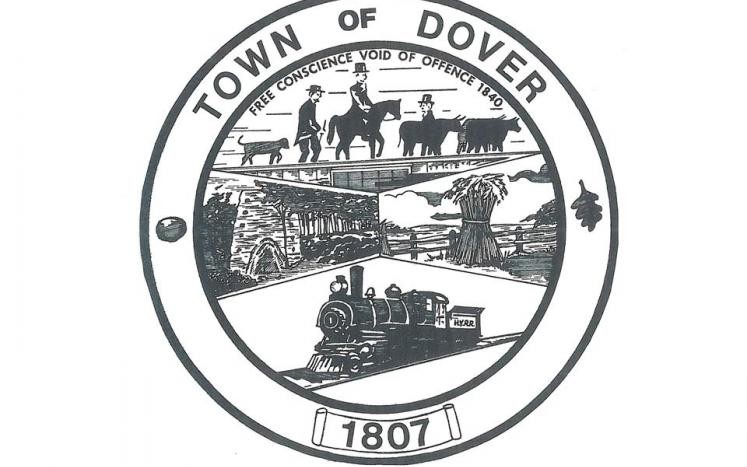 Video Recording of the September 1, 2021 Dover Town Board Special Meeting
